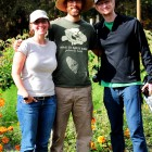 Video shoot at Down to Earth Farm with Brian Lapinski