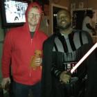 Elliott and Vader