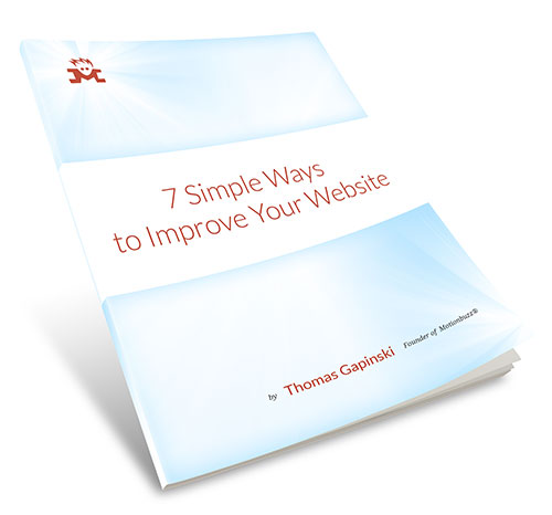 7 Simple Ways to Improve Your Website - Download PDF
