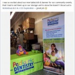 Post from Pediatric Dentistry's Facebook page: