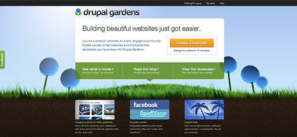 High Quality Even If Youu0027re A Drupal Pro Who Prefers Self Hosting Over SaaS, Drupal  Gardens Could Be The Best Option For Your Small Biz / Small Budget  Clientele.