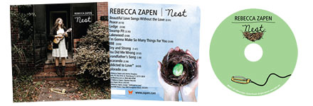 CD album design