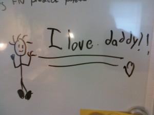 I love daddyI love daddy