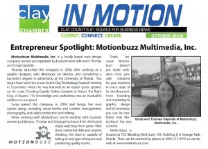 In Motion article