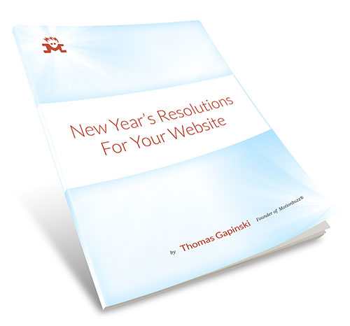 New Year's Resolutions For Your Website - Download PDF